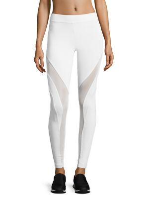 Frame Mesh-Inset Leggings by KORAL