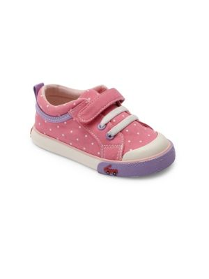 Baby's & Toddler's Kristin Screen-Printed Canvas Sneakers