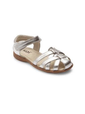 Toddler's & Kid's Camila Leather Ankle Strap Sandals