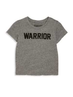Toddler's, Little Girl's & Girl's Warrior Tee