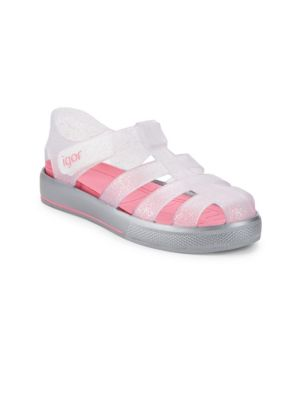 Baby's & Kid's Star Glitter Sandals