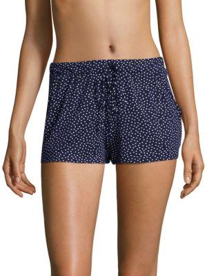Dotted Elasticized Shorts