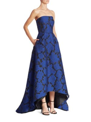 Strapless Hi-Lo Gown