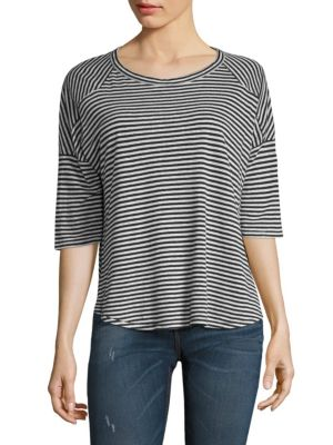 Valley Striped Relaxed Tee