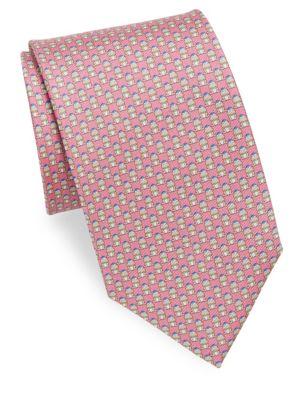 Frog Silk Necktie