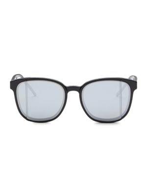 Diorsteps 55MM Mirrored Square Sunglasses