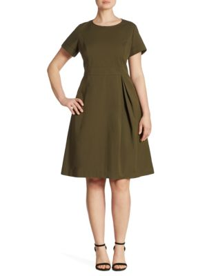 Buy Lafayette 148 New York, Plus Size Joy A-Line Dress online with Australia wide shipping