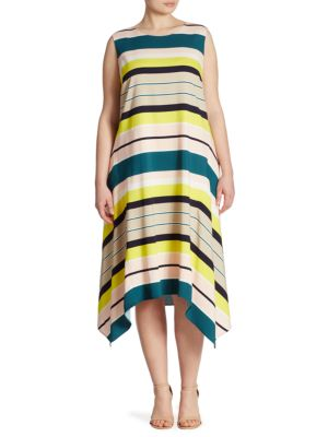 Romona Striped Dress