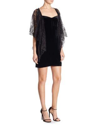 Velvet Cocktail Dress