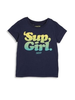 Toddler's, Little Boys & a Boy's Sup Girl Vintage Printed Tee