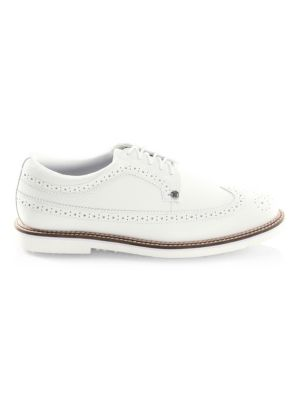 G/FORE Long Wingtip Wingtip Leather Oxford Shoes