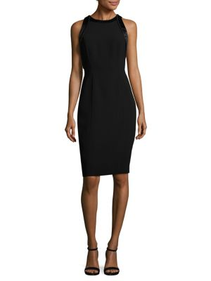 Buy Carmen Marc Valvo Crepe Cocktail Dress online with Australia wide shipping