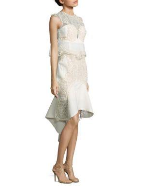 Empire Phantom Embroidered Dress