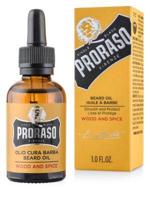 PRORASO GROOMING WOOD AND SPICE BEARD OIL