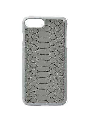 Python-Embossed Leather iPhone 7 Plus Case