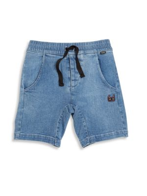 Toddler's, Little Boy's & Boy's Fletcher Acid-Washed Shorts