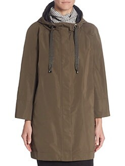 Coats For Women: Trench Coats Parkas &amp More | Saks.com