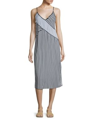 Striped Slip Dress