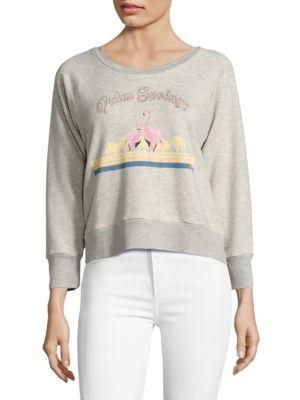 Lizette Cali Cropped Sweatshirt