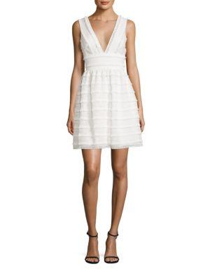 Fringed Lace Dress