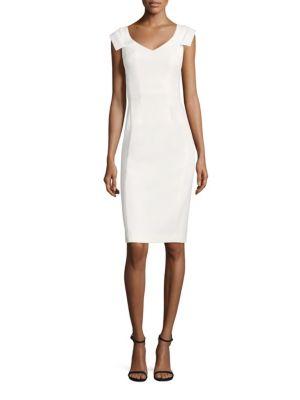 Brooks Solid Sheath Dress