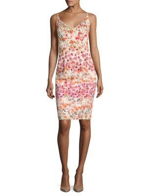 Jevette Floral-Print Sheath Dress