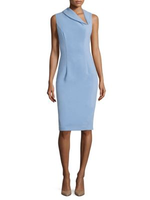 Blaze Solid Sheath Dress