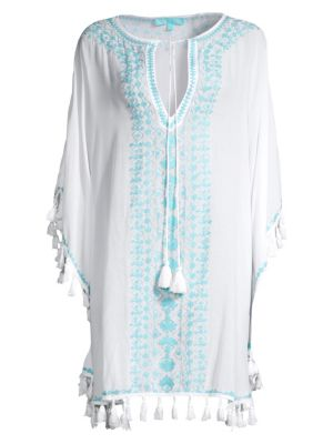 Annie Embroidered Coverup