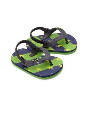 Baby's Amino Stripe Thong Sandals