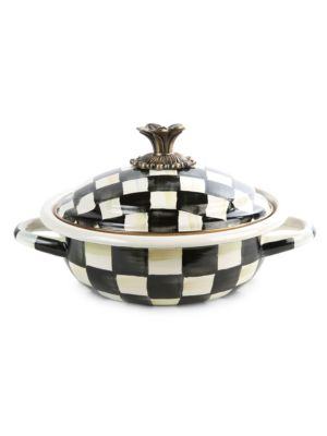 Courtly Check Casserole Dish
