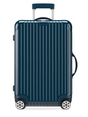 "SALSA DELUXE ELECTRONIC TAG YACHTING BLUE 32"" MULTIWHEEL LUGGAGE"