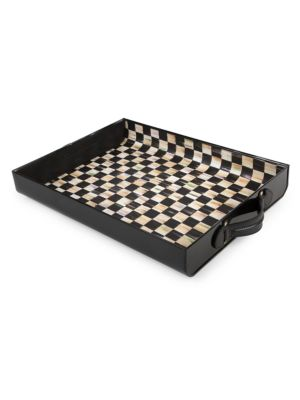 Courtly Check Terrific Tray