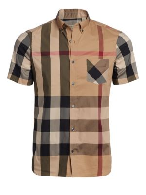 Thornaby Check Short Sleeve Shirt
