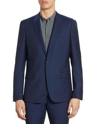 Slim-Fit Wool Jacket