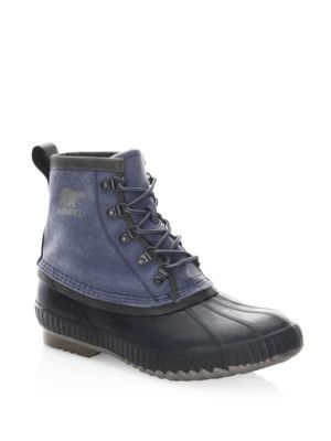 Cheyanne II Canvas Lace-Up Boots