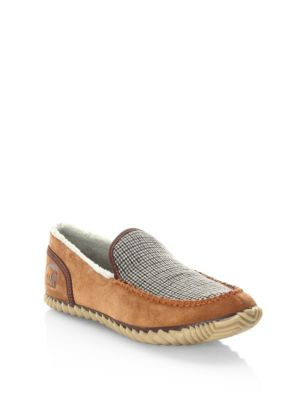 Dude Faux Shearling Lined Suede Slip-On Sneakers