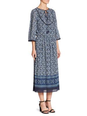 Jaipur Tile Printed Dress