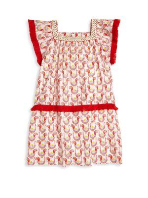 Toddler, Little Girl's & Girl's Oceana Fringe Dress