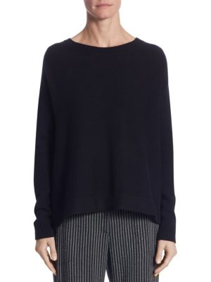 Cashmere & Wool Striped Pullover by Akris punto