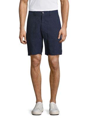 Basic Pinstriped Shorts