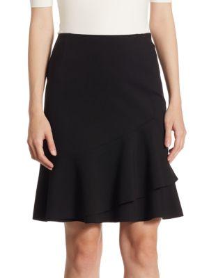 Tiered Jersey Skirt