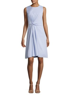 Digiana Twist-Front Sheath Dress