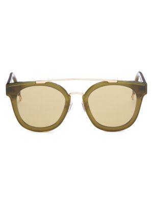 Tilda Swinton X Gentle Monster Newtonic 64MM Rounded Square Sunglasses