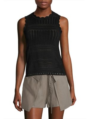 Perforated Cutout Top