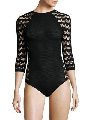Mesh String Bodysuit