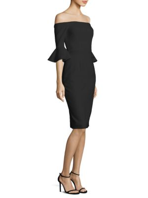 Madigan Off-the-Shoulder Sheath Dress