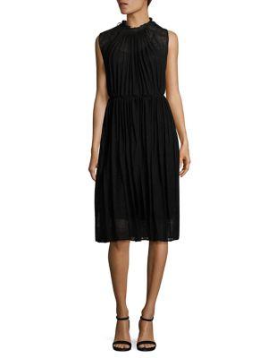 Abito Pleated Dress