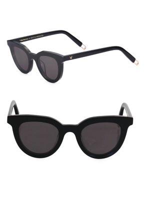 Tilda Swinton X Gentle Monster Eye Eye 45MM Subtle Cat Eye Sunglasses
