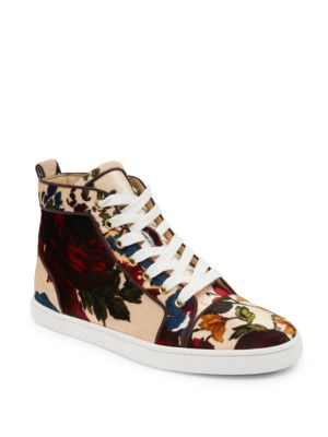 Classique Bip Bip Orlato Floral High-Top Sneakers