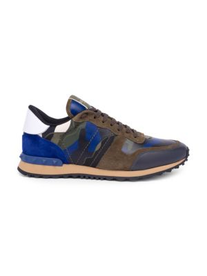 Camouflage Rock Running Sneakers